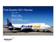 AAWW Presentation - Atlas Air, Inc.