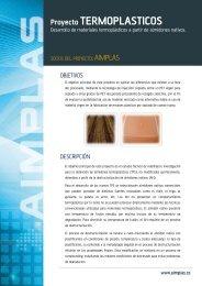 Proyecto TERMOPLASTICOS - Aimplas