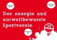 Der energie und umweltbewusste Sportverein ... - Rhein-Kreis Neuss