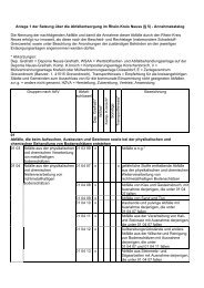 Anlage 1 der Satzung über die Abfallentsorgung im Rhein-Kreis ...