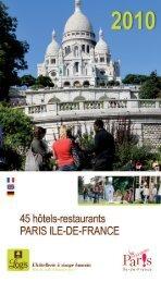 logis de france - Hotels Paris - Logis