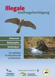 Leitfaden Greifvogelverfolgung - Komitee gegen den Vogelmord