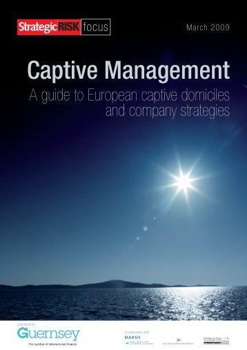 Captive Management - Guernsey