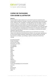 curso de packaging con adobe illustrator - cev empresas