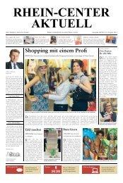 Shopping mit einem Profi - Rhein Center