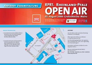 Rückreise vom … RPR1. Rheinland-Pfalz ... - Rheinland-Pfalz-Takt