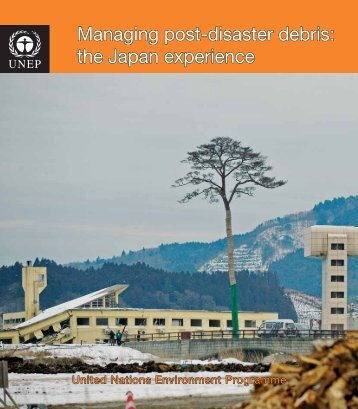 Managing post-disaster debris - Disasters and Conflicts - UNEP