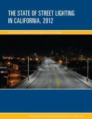 The STaTe of STreeT LighTing in CaLifornia, 2012 - UC Davis ...
