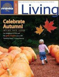 A utumn 2007 Celebrate Autumn! - Minto