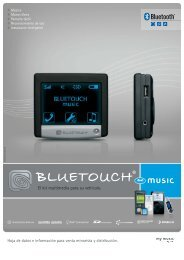 El kit multimedia para su vehiculo. - BlueTouch