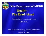 Quality – The Road Ahead - 2012 Reinventing Quality Conference