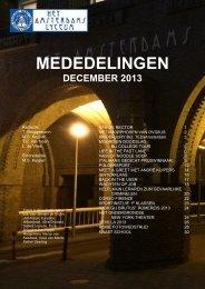 winter 2013 - Het Amsterdams Lyceum