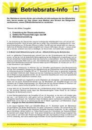 Betriebsrats-Info - Schaeffler-Nachrichten der IG Metall: Startseite