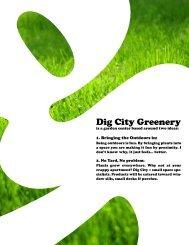 Dig City Greenery