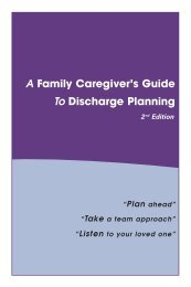 A Family Caregiver's Guide To Discharge Planning - Home Instead ...