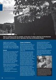Environmental sustainability - University of the Sunshine Coast