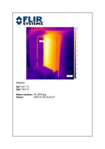 Radiator Sp1 42,7 °C Sp2 19,6 °C Název ... - TOP-MACHINES