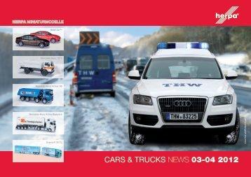 CARS & TRUCKS NEWS 03-04 2012 - Menzels Lokschuppen