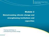 Module 2 - Global Climate Change Alliance