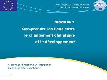 Module 1 - Global Climate Change Alliance