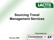 Sourcing Travel Management Services - Global Business Travel ...