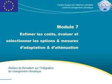 Module 7 - Global Climate Change Alliance