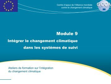 Module 9 - Global Climate Change Alliance