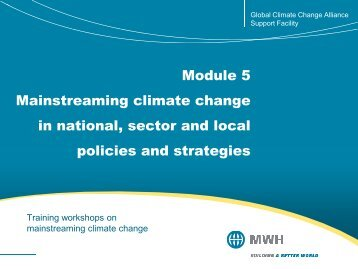 part 2 - Global Climate Change Alliance