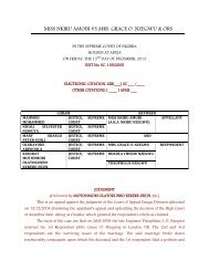 to view case - Latest Nigerian Supreme Court Cases