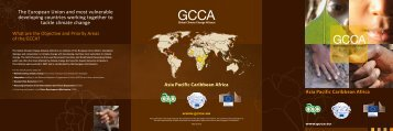 GCCA leaflet - Global Climate Change Alliance