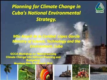 Planning for climate change in Cuba's national environmental strategy