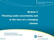 Module 2 Planning under uncertainty and in the face of a changing ...