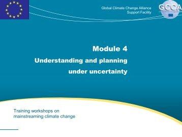 Module 4 - Global Climate Change Alliance