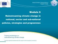 slides - Global Climate Change Alliance