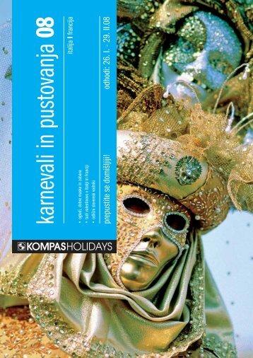 Katalog karnevali in pustovanja 08 (.pdf) - Kompas