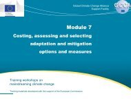 Module 7 - Global Climate Change Alliance