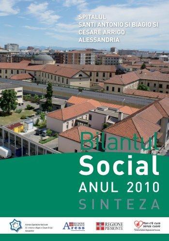 Bilantul - Azienda Ospedaliera Santi Antonio e Biagio e Cesare Arrigo
