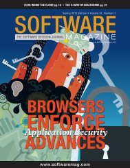Application Security - Software Magazine