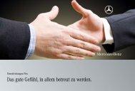 Das gute Gefühl, in allem betreut zu werden. - Mercedes-Benz ...