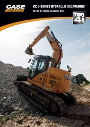 cx c-series hydraulic excavators - Case Construction Equipment ...