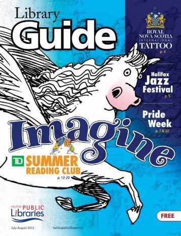 Guide Jul-Aug 2012 - Halifax Public Libraries