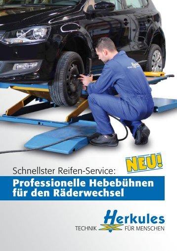 Produktdatenblatt Reifenservice - Herkules Hebetechnik