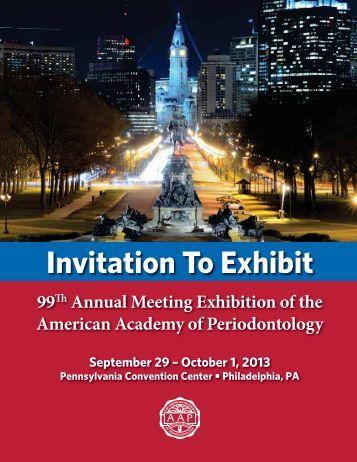 Annual Meeting - American Academy of Periodontology