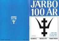 Järbo kommun 1963 - 150 års jubileum