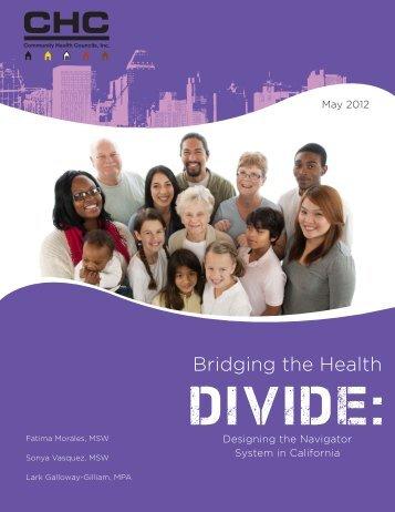Designing the Navigator System in California - Community Health ...