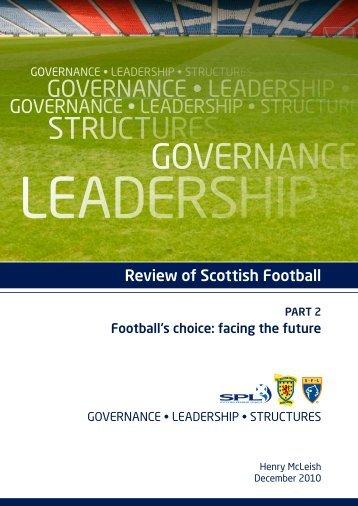 Review of Scottish Football / Part 2 - Scottish Football Association