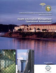 Health Information Management Operational Assessment