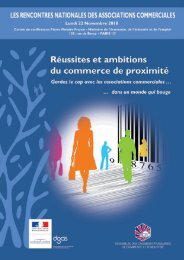 Les Rencontres Nationales des Associations Commerciales