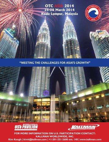 OTC ASIA 2014 - Kallman Worldwide Inc.