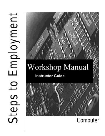 Workshop Manual - Settlement.org